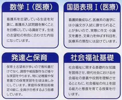 教育課程の予定表