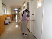校内消毒1